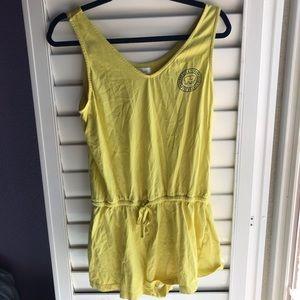 Ivory Ella's yellow romper